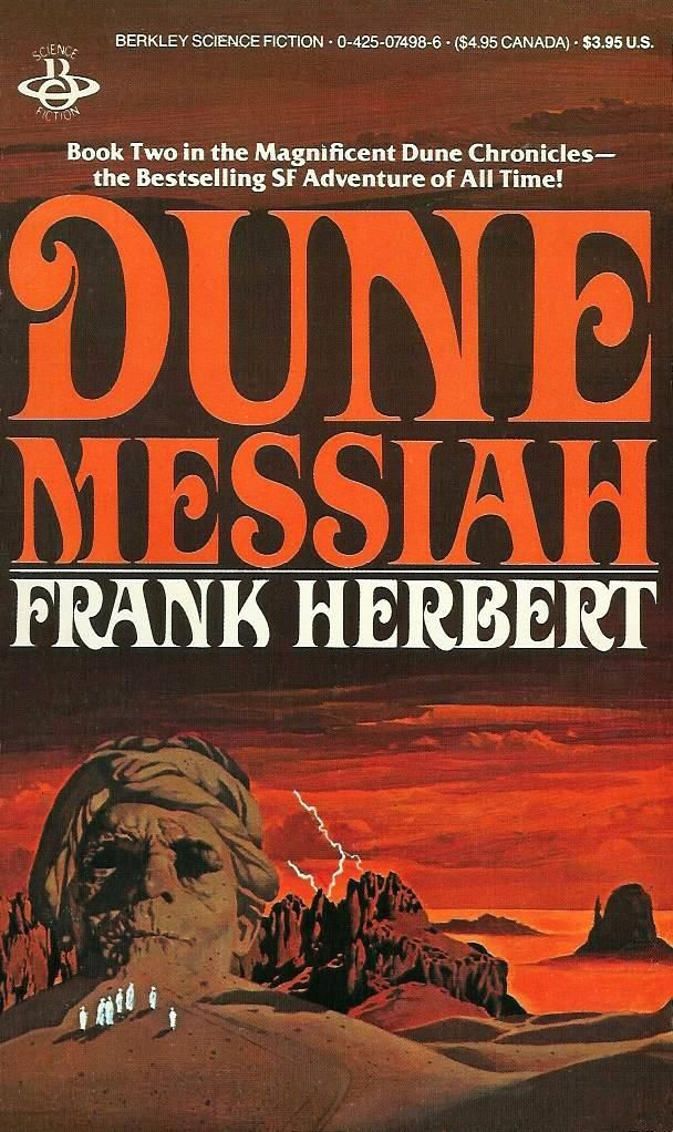 Dune Messiah, by Frank Herbert