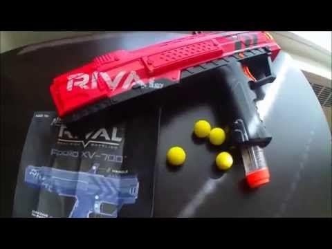 Nerf Rival Apollo XV-700 Review   Nerf Gun Attachments