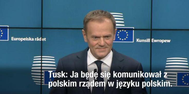 Nietypowa konferencja po wyborze. Donald Tusk żartuje, Juncker kpi z polskiego rządu [WIDEO] - Niezłomni.com