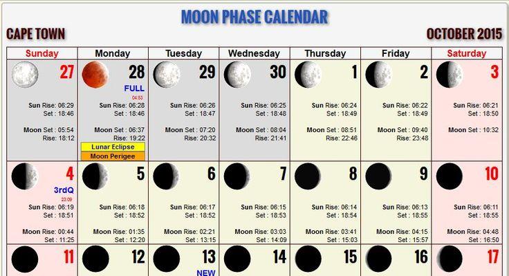 Port Washington Moon Phase Calendar: moonrise, moonset, sunrise and sunset times for Port Washington