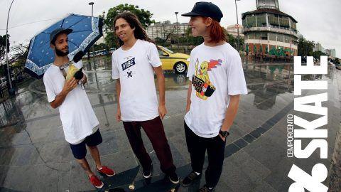 CemporcentoSKATE – Skate na chuva no RJ – CemporcentoSKATE: Source: CemporcentoSKATE