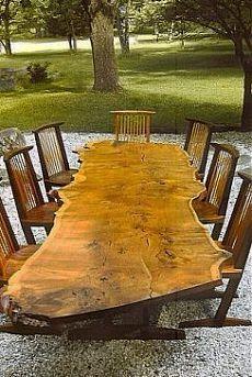 Оригинальные изделия из дерева в интерьере