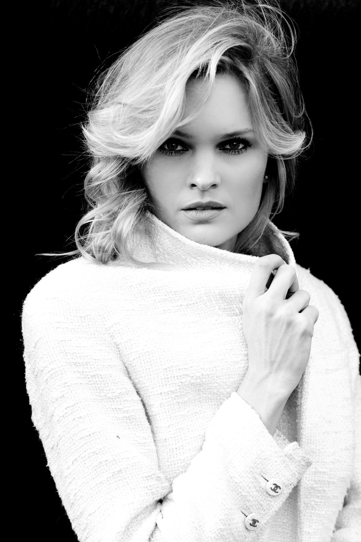 "actress ""Sunny Mabrey"" wearing vintage Chanel.  Trevor Boyd photography"