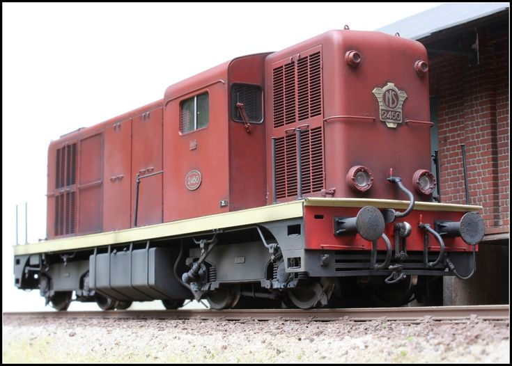 BECASSE WEATHERING: The French connection: NS 1100 und 2400 in Null