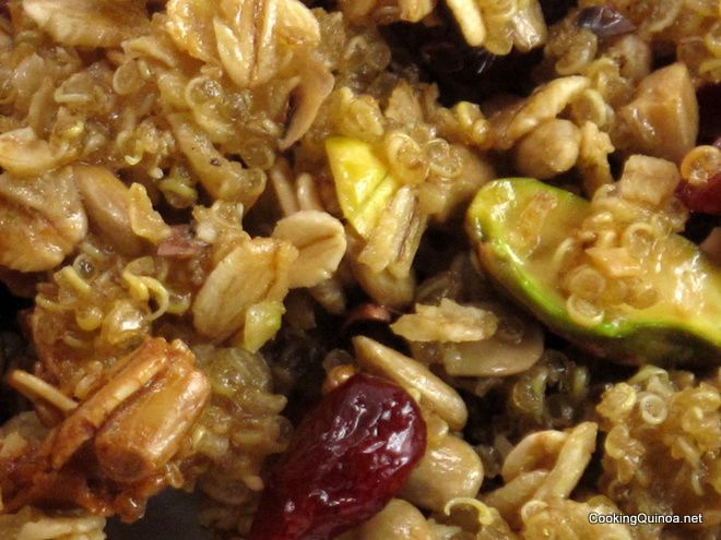 Quinoa, Apricot, And Nut Clusters Recipes — Dishmaps