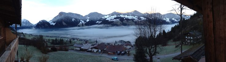 View from balcony / Austria / Mayrhofen