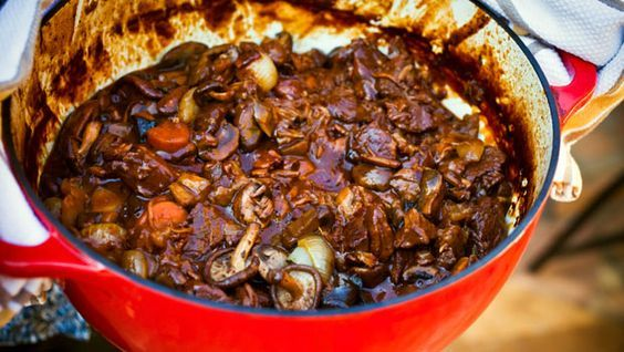 Insanely easy Beef Bourguignon!! by Katie Lee--I absolutely LOVE LOVE LOVE this dish! And it truly is easy to cook!