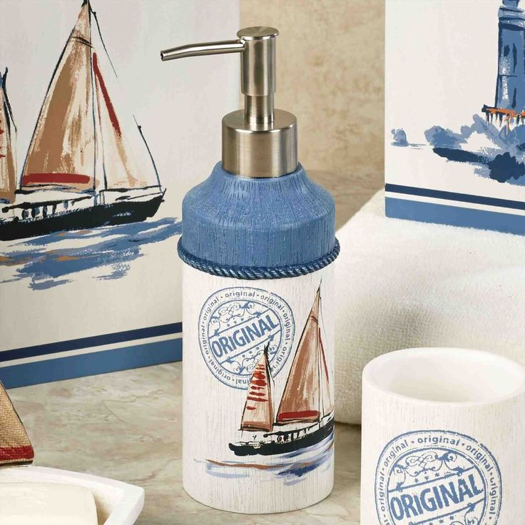 New nautical bathroom accessories sets at xx16.info