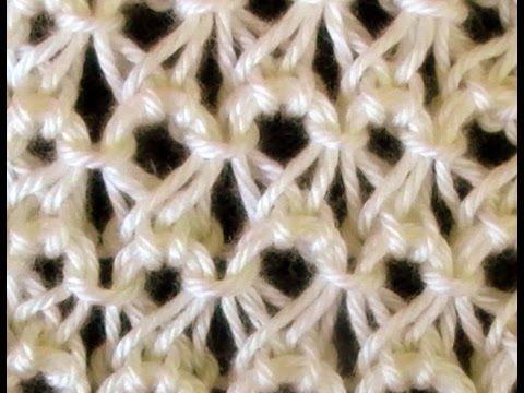 Como Tejer Punto Peruano- Broomstick Lace (87)