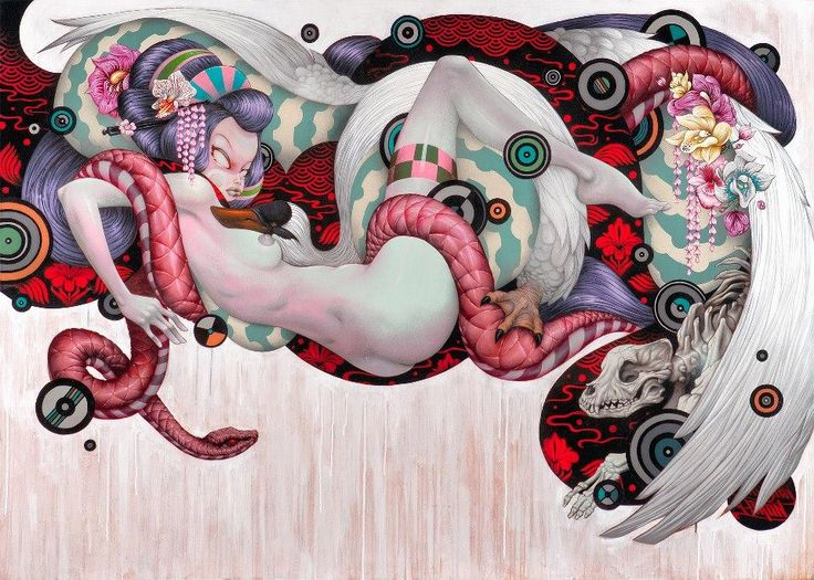 Street Art-Tristan Eaton-Dope piece-Brooklyn, NY.