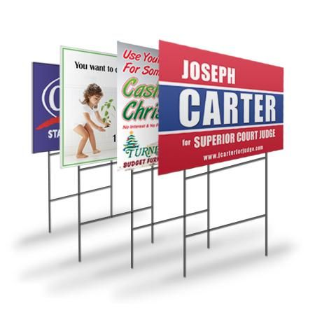 Cheap Yard Signs Now