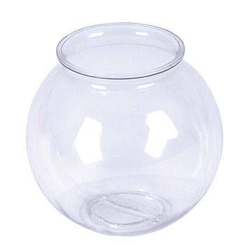 17 best images about 16 decorations on pinterest for Plastic fish bowl