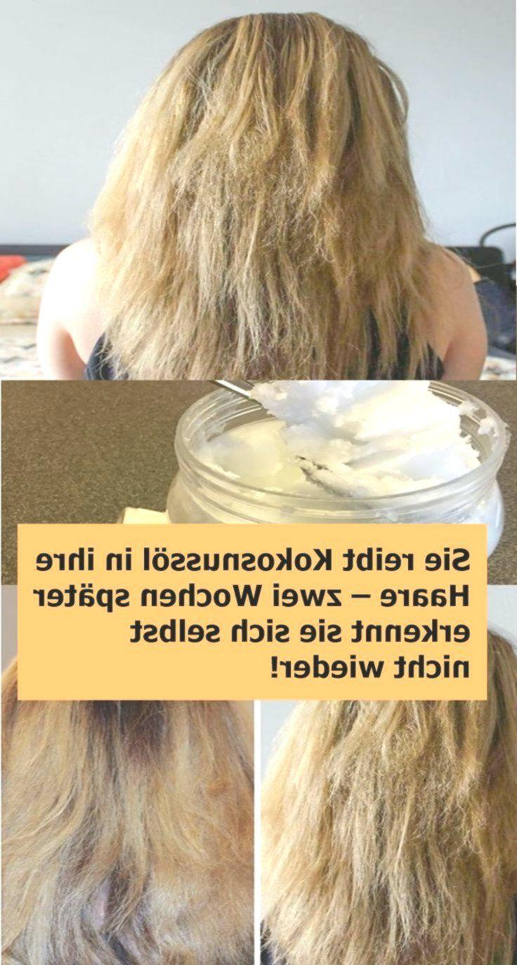 Sie Reibt Kokosnussol In Ihre Haare Zwei Wochen Spater Erkennt Sie Sich Selbst Nicht Wieder Njuskam Haare Pflegen Haare Haarpflege Tipps