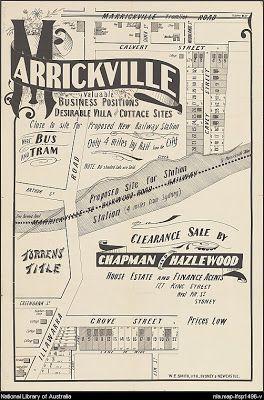 Marrickville Heritage: Marrickville - a suburb history