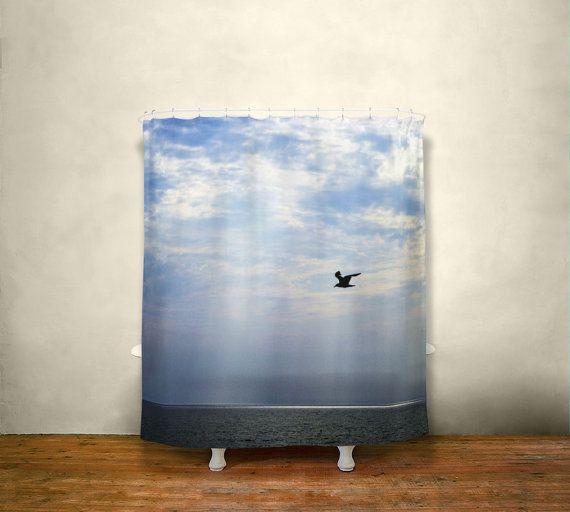 Curtains Ideas curtains birds theme : 17 Best ideas about Beach Shower Curtains on Pinterest | Sea theme ...