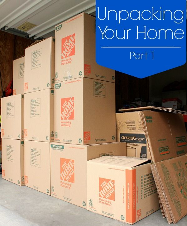 Unpacking in your new home can feel like an overwhelming and never-ending job. These unpacking tips will help you make it both productive and efficient.