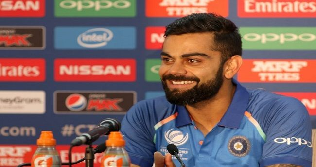 India men's cricket team skipper Virat Kohli led others in congratulating his women's counterpart Mithali Raj moments after she broke the world record by becoming the highest run-getter in One-day International (ODI) cricket, surpassing former England captain Charlotte Edwards's record of 5992 runs.