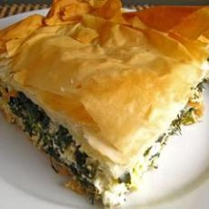 Spanakopita (Greek Spinach Pie) III Recipe