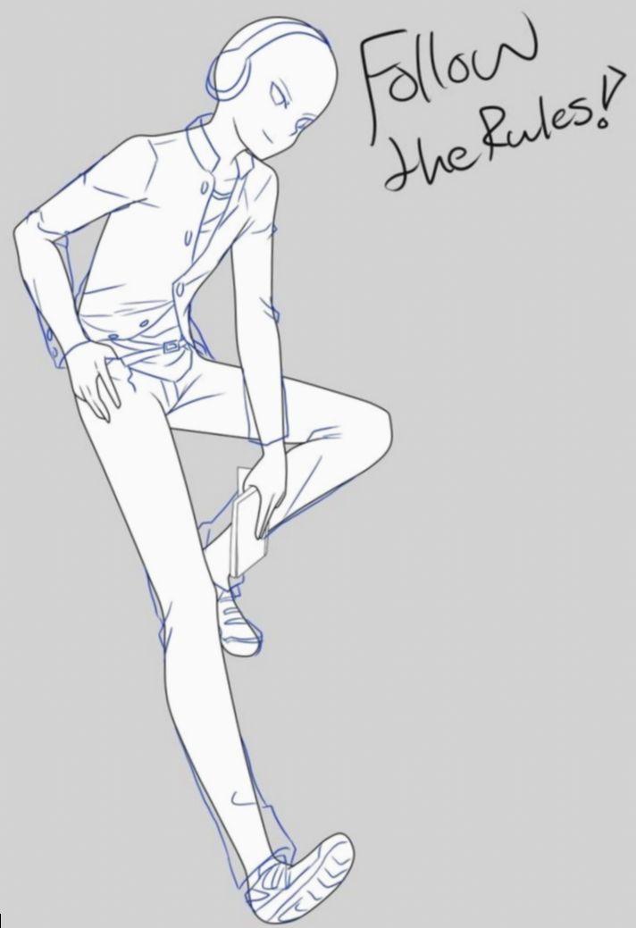 7 Anime Guys Poses Base Anime Poses Reference Anime Boy Sketch Anime Poses