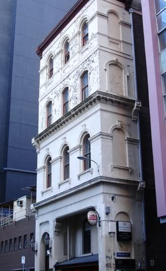 Bar in basement - Building Flinders Lane Melbourne Victoria Australia (City)