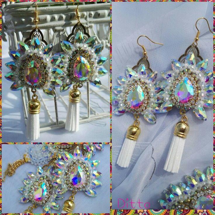 Sisa -handmade earrings