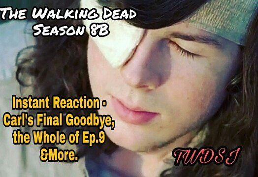 #up now on #mychannel #instantreaction https://m.youtube.com/watch?v=TMq7gGxOj9w #carlgrimes #final #goodbye #if u haven't seen contains spoilers .#ricksdream #twdedits #rickstwdluv #michonne #sadness #teasers #thefeels #  # #ep #season8b #funko #Morgan on a #mission #TheWalkingDeadSpreadJamz #allwalkingdeadfans #somber #great. Acting moments #hype #twdfam #evry1