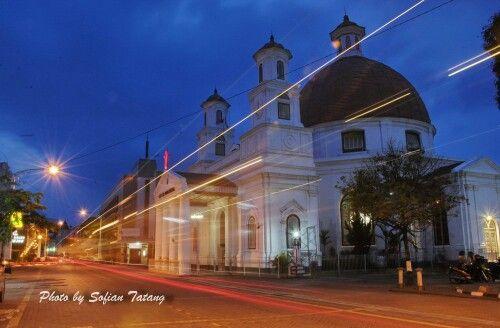 Gereja Belenduk, Kota Lama Semarang (Photo By Sofian Tatang)