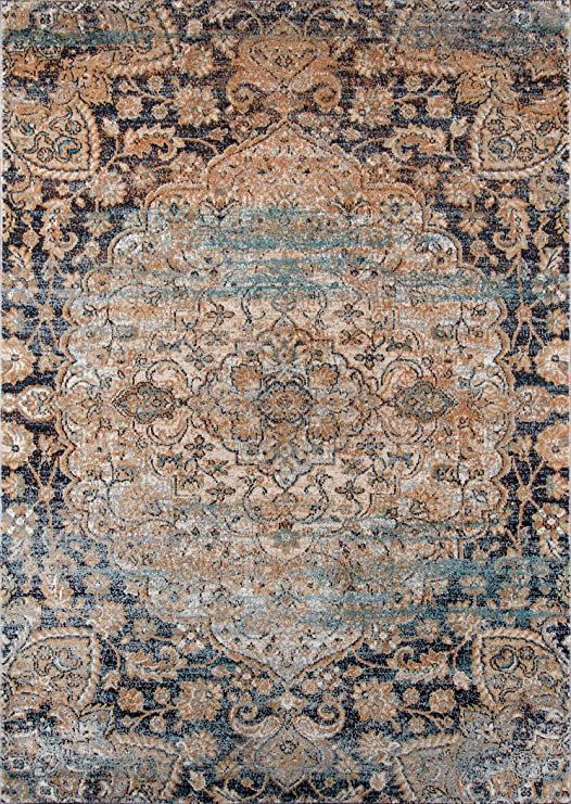 Momeni Rugs Amelia Collection Traditional Area Rug 9 3 Quot X 12 6 Quot Navy Blue In 2020 Area Rugs Area Rug Decor Rugs