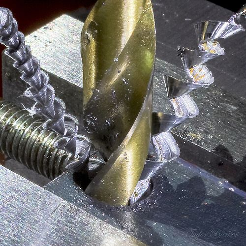 (Posted from precisiontype.com)  A couple of good precision engineering images I discovered: Drilling Steel  Image by tudedude Drill Bit and Swarf Engineer's Pin Vice  Image by tudedude   Read more on http://www.precisiontype.com/drilling-steel/