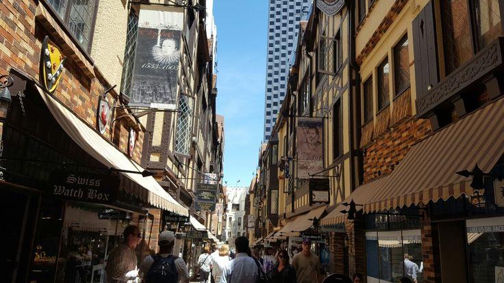 London in Perth, Australia