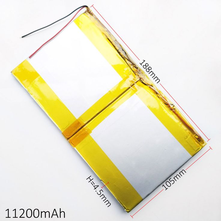 ==> [Free Shipping] Buy Best 3.7V 11200mAh 45188105 Lithium Polymer Li-Po Rechargeable Battery For GPS PSP DVD Power bank PAD DIY E-Book Tablet PC Laptop Online with LOWEST Price   32337603317