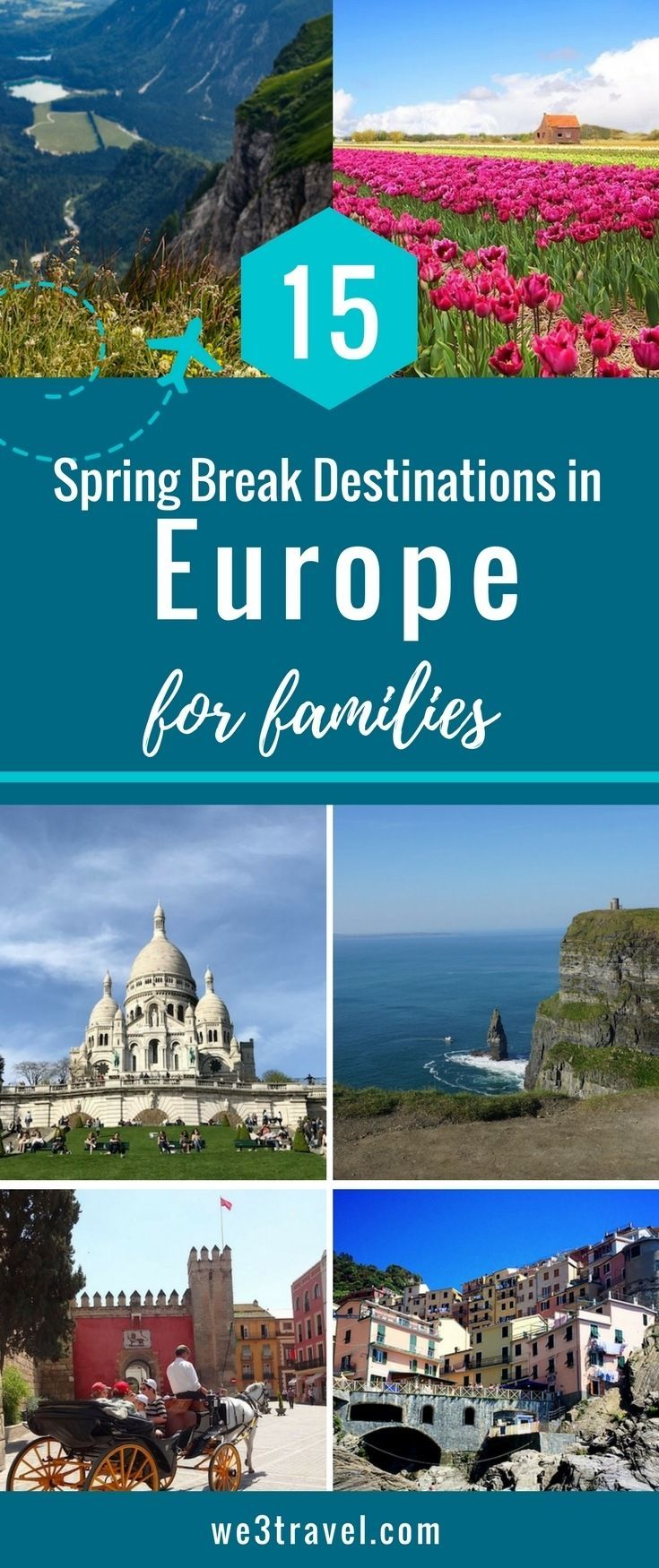 15 european spring break destinations for families | italy travel