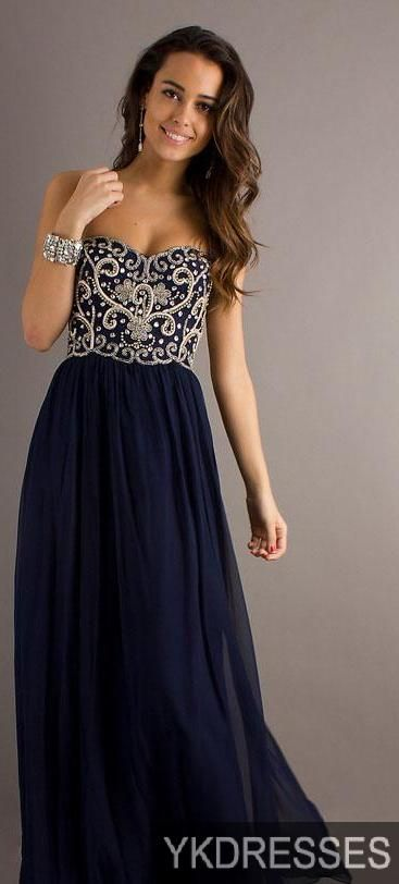 "Navy Prom Dress! ""Trendy, Unique and Affordable"" - That is the main philosophy at Bling Boutique in Milford, MI! Stop by our store to find some fashionable items that will spice up your wardrobe! Visit www.downtownbling.com or call (248) 685-8449 for more information!"