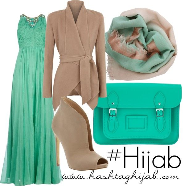 Hashtag Hijab Outfit #147  -  and Blue would wear every piece, happily. Mash'AlLah!