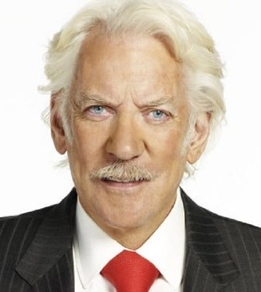 Donald Sutherland, born in 1935, is a Canadian actor ...