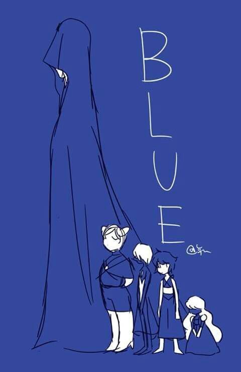 blue and her court