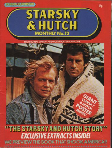 STARSKY & HUTCH MONTHLY POSTER MAGAZINE NO. 12