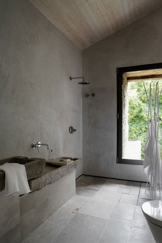 Showers with a rustic charm | Ábaton