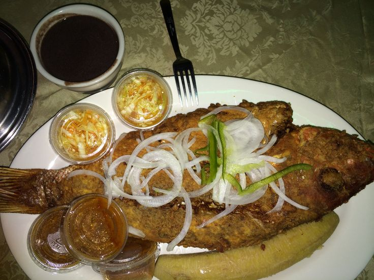 Fried Fish Haitian Style Foodie Recipe Pics