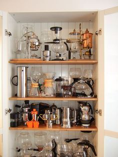 Serious coffee maker collection