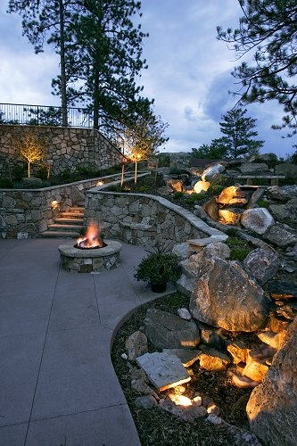 Outdoor Lighting Adds Beauty and Security