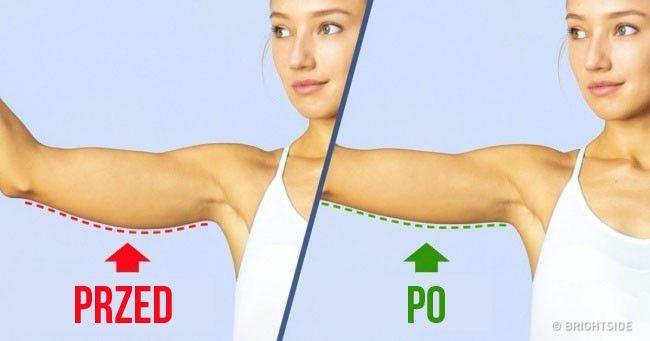 6 ćwiczeń, które pomogą Ci ujędrnić skórę na obwisłych ramionach