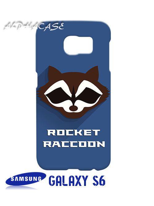 Rocket Raccon Superhero Samsung Galaxy S6 Case