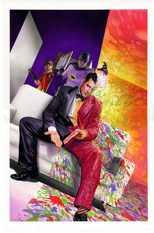 Batman '66: The Lost Episode cover by Alex Ross