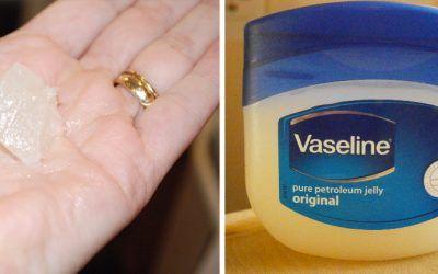 A geléia de petróleo é o componente básico da vaselina. É geralmente encontrado em produtos de beleza] para a pele hidratante. Não é caro . Não