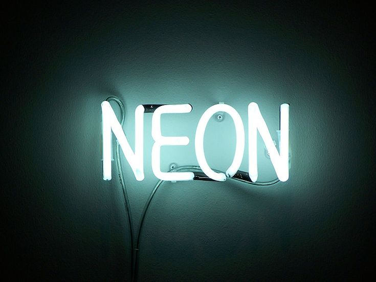 11 best Neon images on Pinterest Hairdos, Neon backgrounds and - fresh periodic table of elements neon