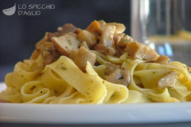 Pappardelle ai Funghi : Original Italian Recipe | Agnese Italian Recipes
