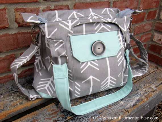 Hey, I found this really awesome Etsy listing at https://www.etsy.com/listing/251123698/concealed-carry-purse-gray-arrow-fabric