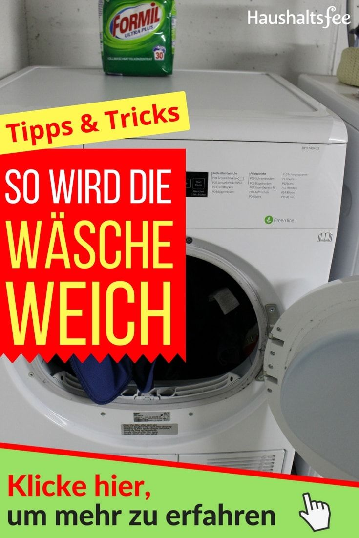 Meine Wasche Ist Nach Dem Waschen Oft Hart Wasche Haushaltsfee Und Welches Waschmittel