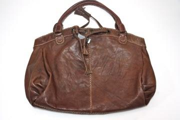 Brown Leather Shoulder Bag $240.00